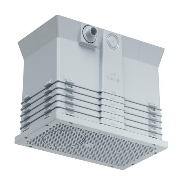 Inbouwbehuizing voor de buitenisolatie 100 - 160 mm