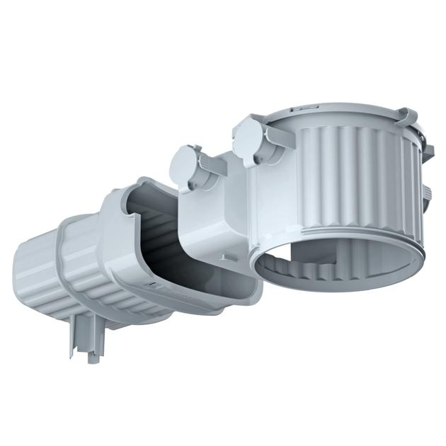 HaloX® 100 met tunnel 190 voor stortbeton
