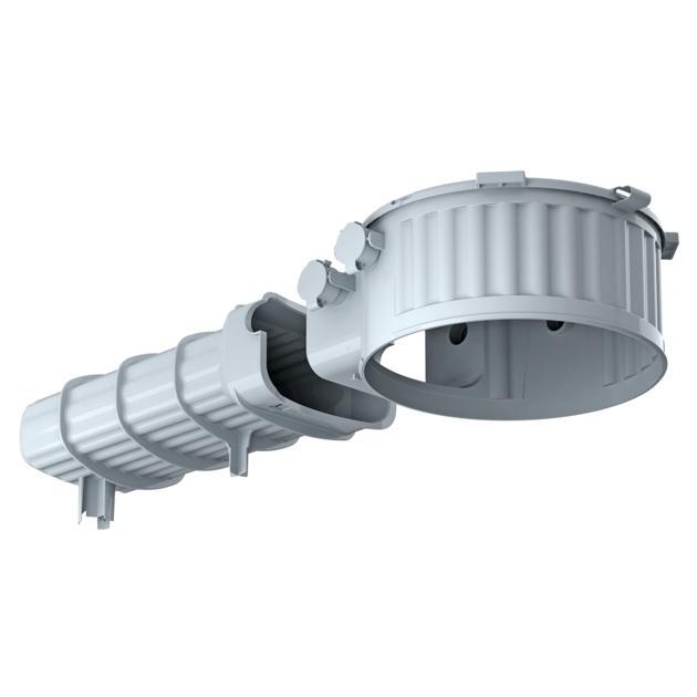 HaloX® 180 met tunnel 325 voor stortbeton
