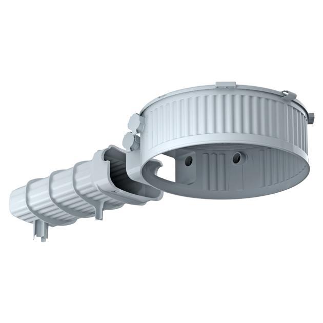 HaloX® 250 met tunnel 325 voor stortbeton